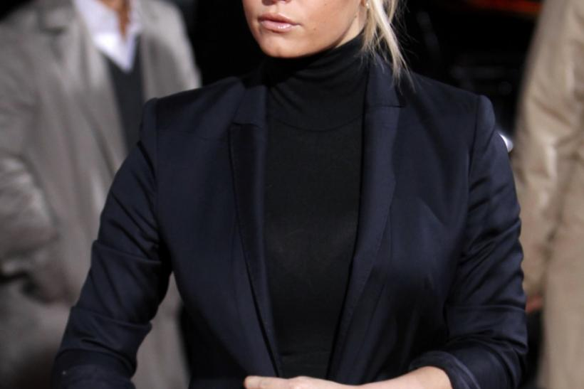 "Jessica Simpson arrives at the premiere of CBS film's ""Extraordinary Measures"" at Grauman's Chinese Theatre in Hollywood"