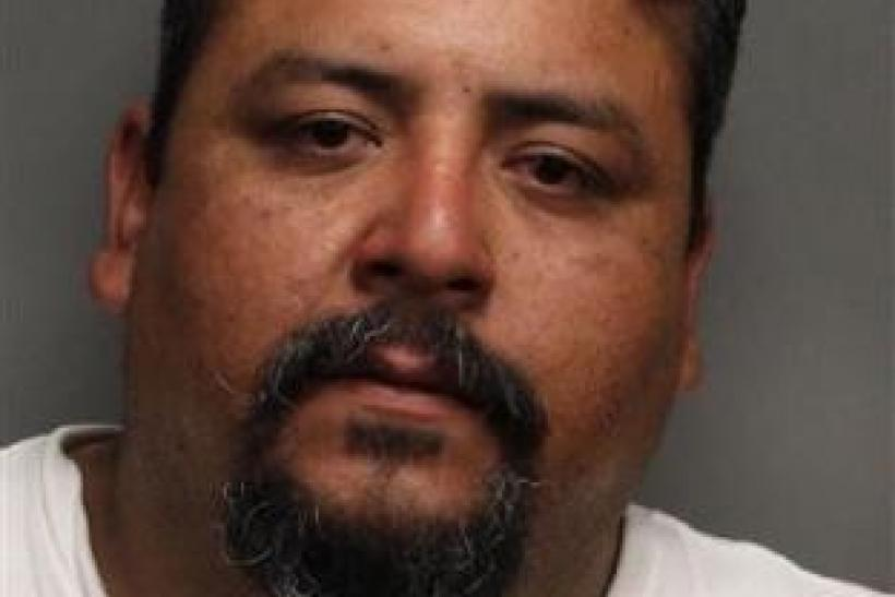 Cesar Villagrana, 36, of Gilroy, California is seen in this booking photograph