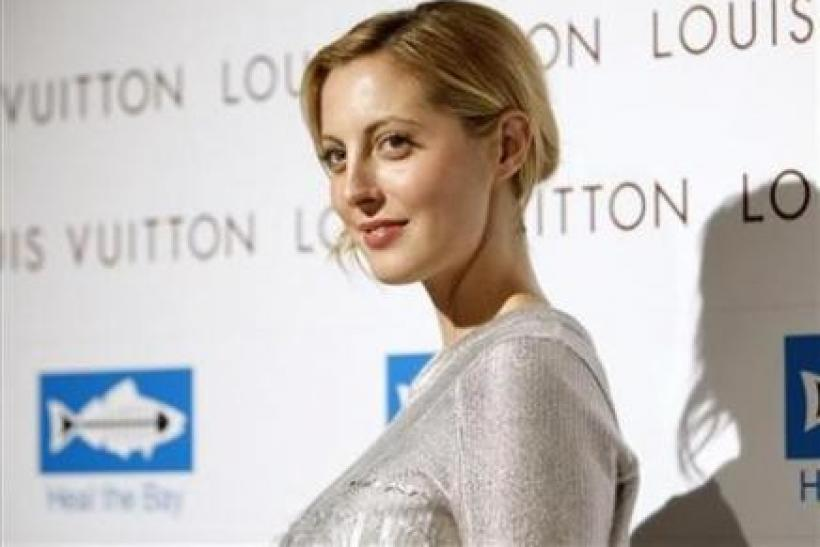 Actress and host Eva Amurri poses at a party celebrating the opening of a new Louis Vuitton store in Santa Monica