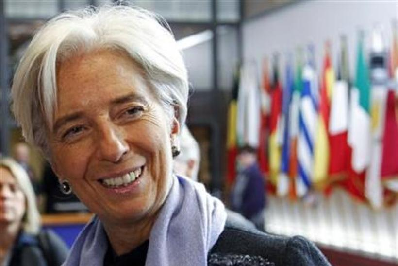 Christine Lagarde, the Chief of the International Monetary Fund