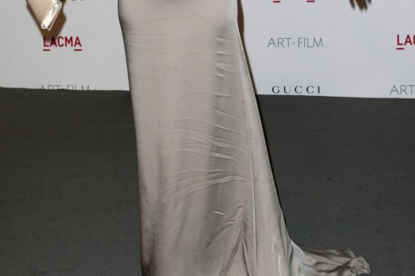 Actress Dakota Johnson arrives at the Los Angeles County Museum of Art (LACMA) Art + Film Gala in Los Angeles, California