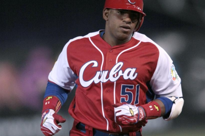 Nicknamed El Talento and La Potencia for his skill set and style of play, Cuban baseball center field phenomenon Yoenis Cespedes will soon be cleared for free agency and have a handful of teams vying to add him to their roster.