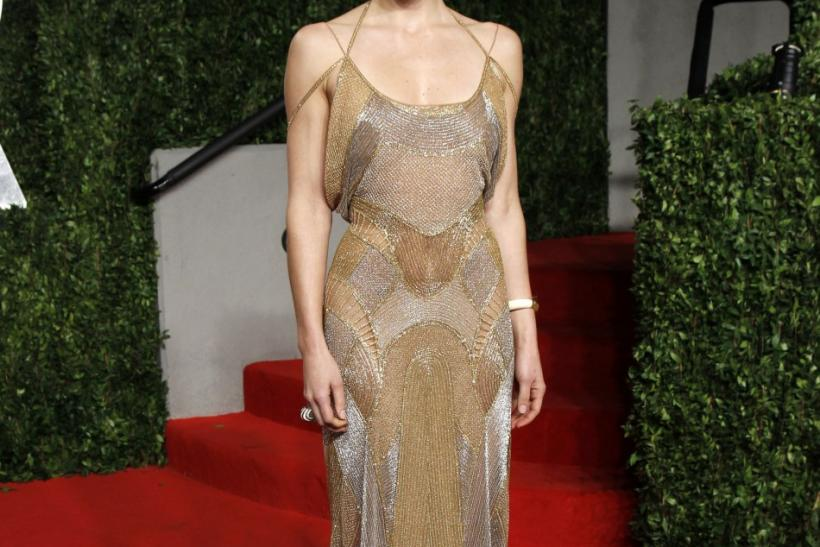 Actress Jessica Biel arrives at the 2011 Vanity Fair Oscar party in West Hollywood