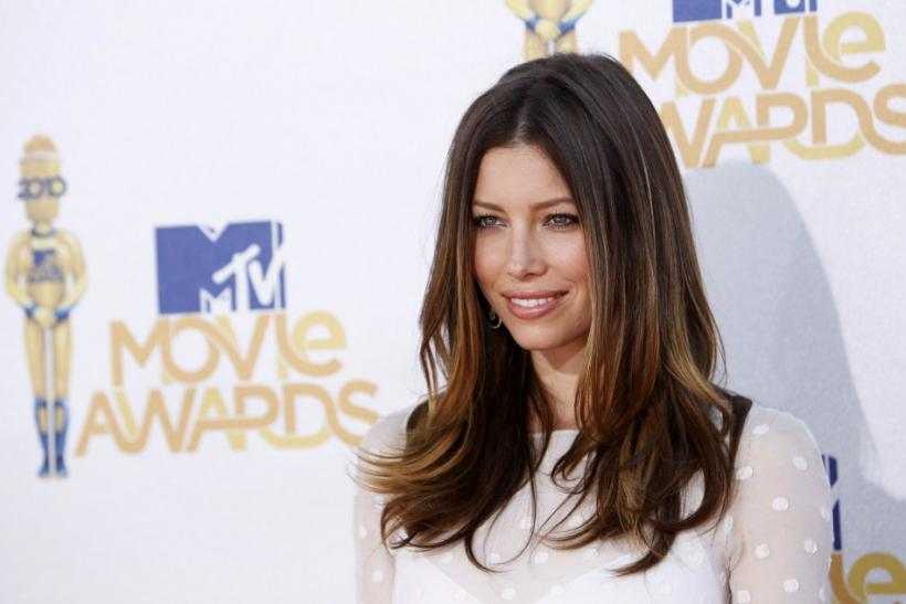 Actress Biel arrives at the 2010 MTV Movie Awards in Los Angeles