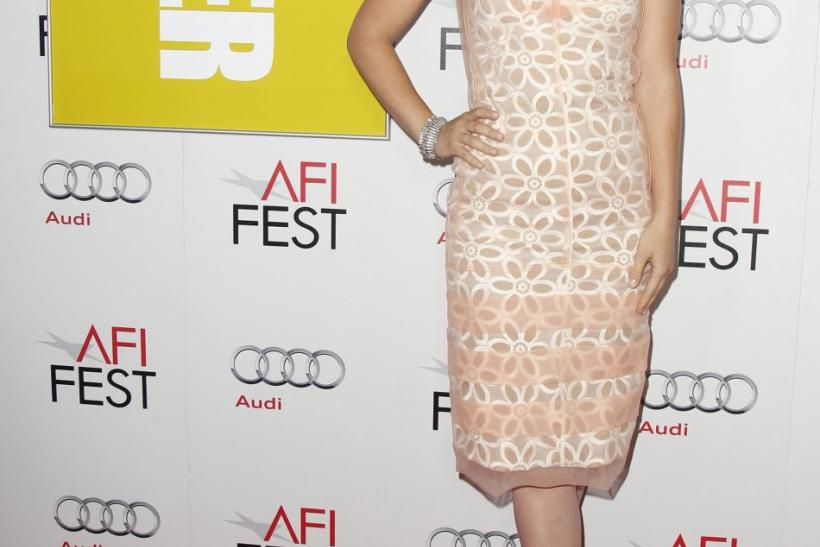 """Cast member Olivia Wilde poses at a screening of the film """"Butter"""" during AFI Fest 2011 in Hollywood"""