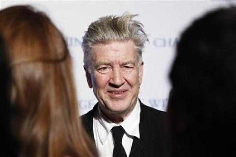 David Lynch arrives for the annual David Lynch Foundation benefit celebration in New York