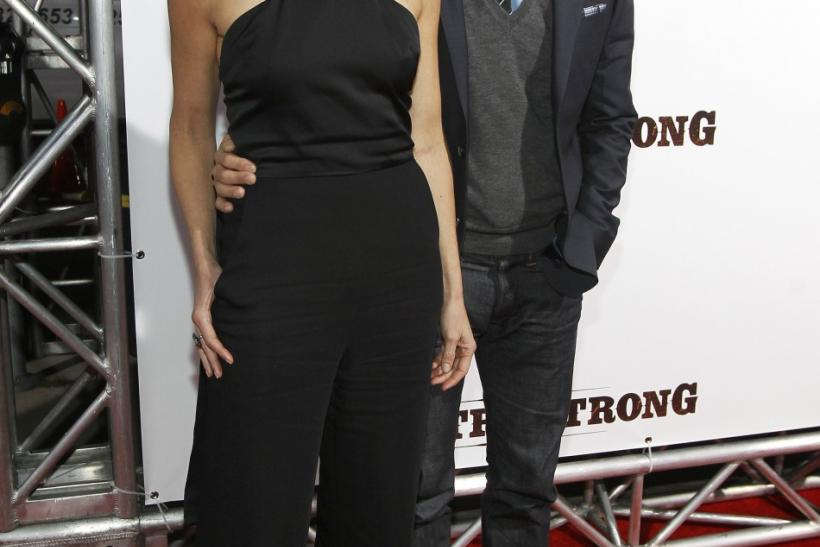 "Cast member Tim McGraw and his wife country singer Faith Hill pose at a special screening of ""Country Strong"" in Beverly Hills"
