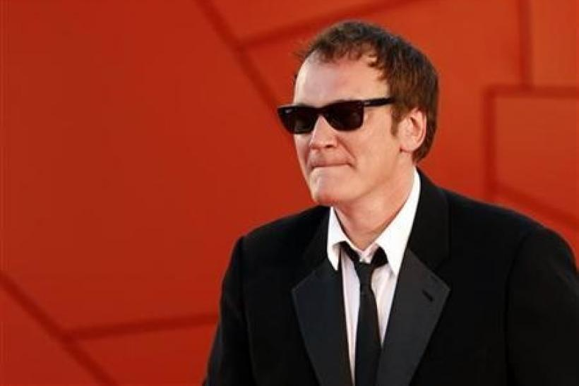 Director Quentin Tarantino arrives at the red carpet during the closing ceremony at the 67th Venice Film Festival