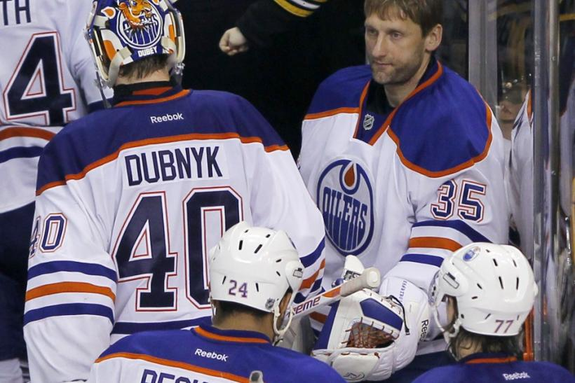 Bruins put skids on Oilers in 6-3 win