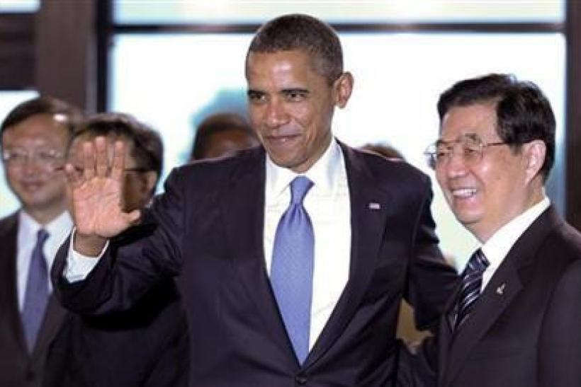 Obama, Hu pitching different trade agendas