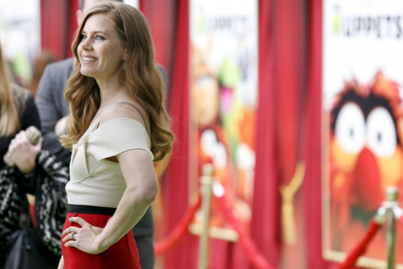 "Cast member Amy Adams arrives at the ""The Muppets"" world premiere in Hollywood, California"