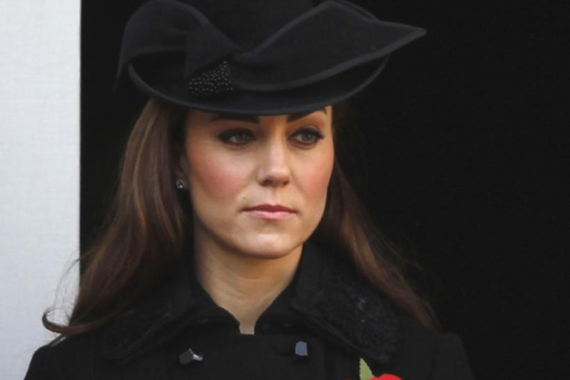Catherine, Duchess of Cambridge attends the annual Remembrance Sunday ceremony at the Cenotaph in London November 13, 2011.