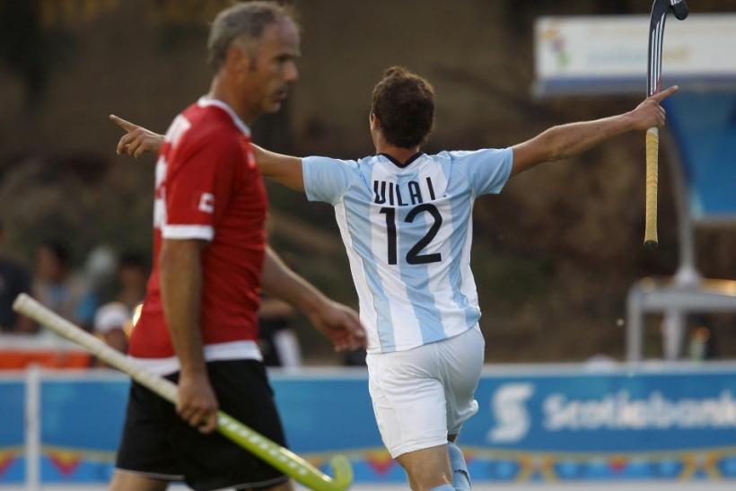 Argentina's hockey world champions secure berth