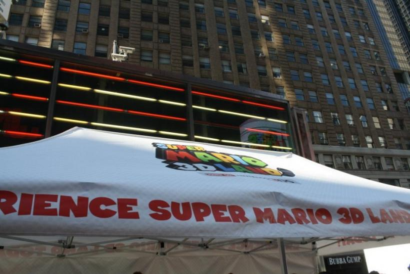 The Mario 3D Land tent.