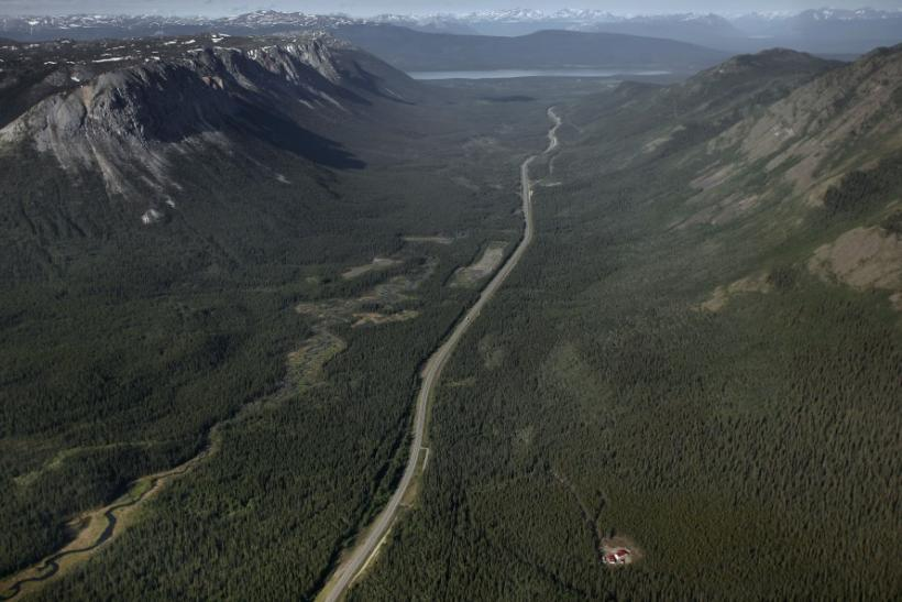 Yukon territory south of Whitehorse