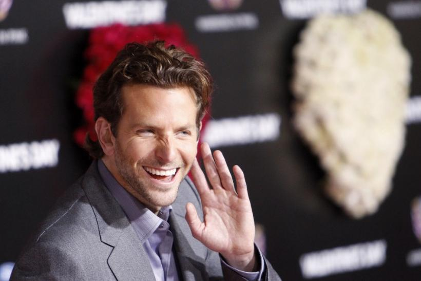 "Cast member Cooper gestures at the premiere of ""Valentine's Day"" at the Grauman's Chinese theatre in Hollywood"