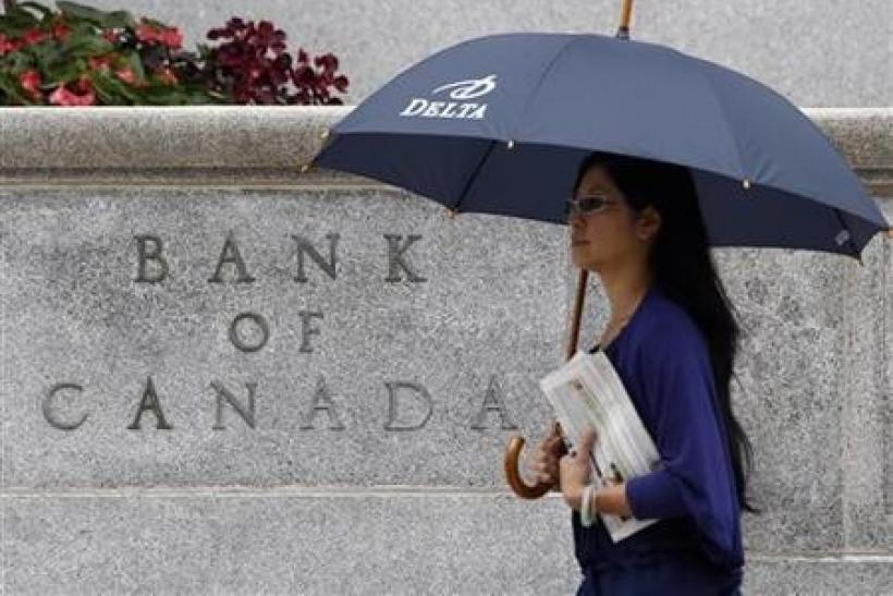 Bank of Canada sees slower growth in 2012