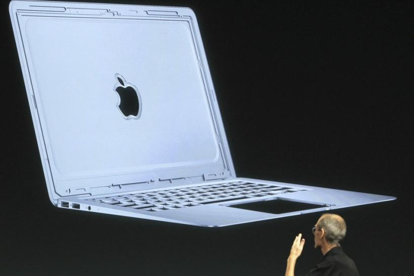 For the sake of design, Apple's 15-inch MacBook Air and Intel's next line of Ultrabook laptops will not feature a disc drive for playing physical CDs and DVDs.
