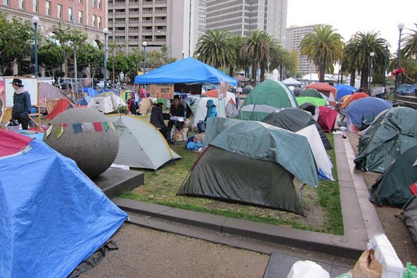 Occupy SF encampment overview