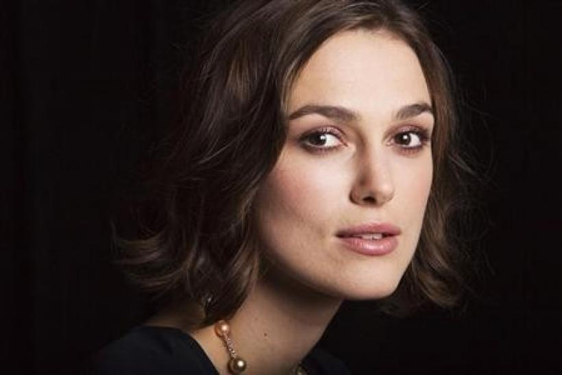 Actress Keira Knightley of the film ''A Dangerous Method'' poses for a portrait during the 36th Toronto International Film Festival (TIFF) in Toronto, September 11, 2011.