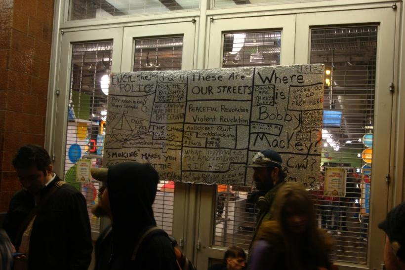 Black Friday Shopping Marred by Occupy SF Demonstrators
