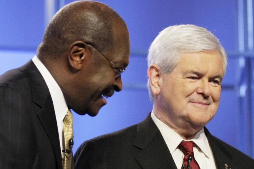 Newt Gingrich & Herman Cain