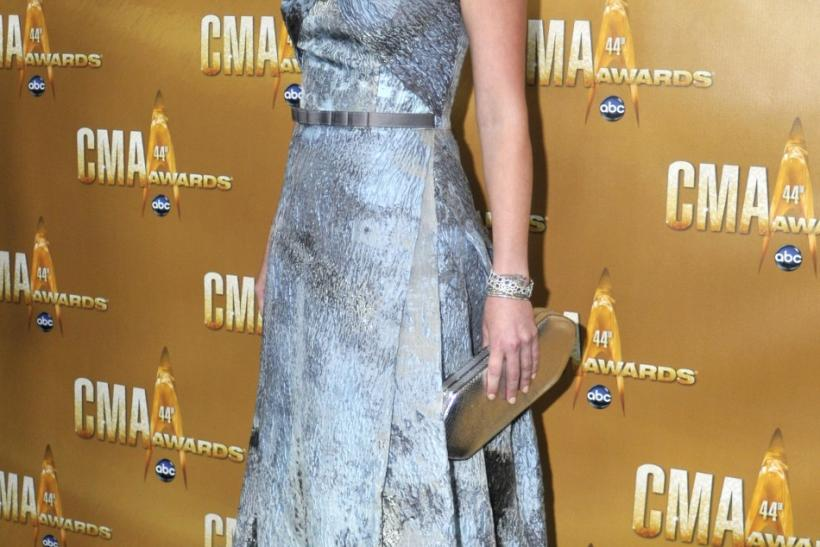 Singer Jennifer Nettles of Sugarland arrives at the 44th annual Country Music Association Awards in Nashville