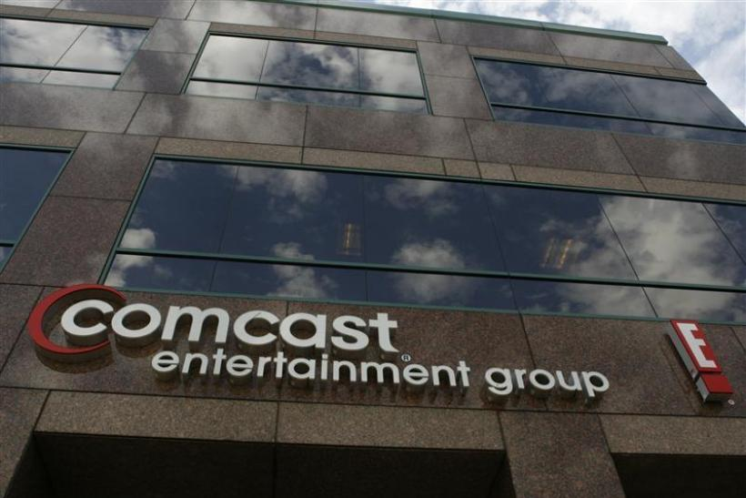 The offices and studios of Comcast Entertainment Group is pictured in Los Angeles