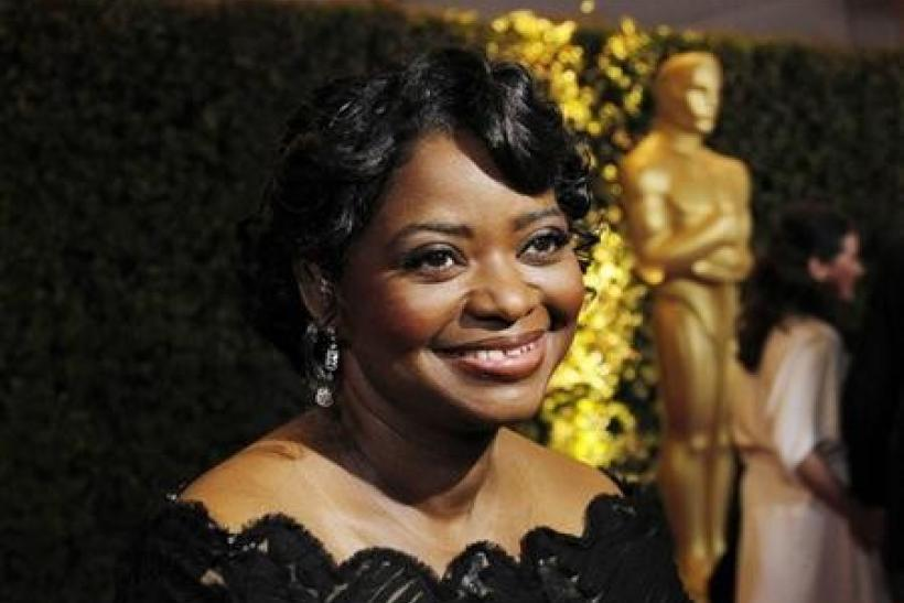 Actress Octavia Spencer from the film ''The Help'' is interviewed at the Academy of Motion Picture Arts and Sciences' 2011 Governors Awards in Hollywood, California