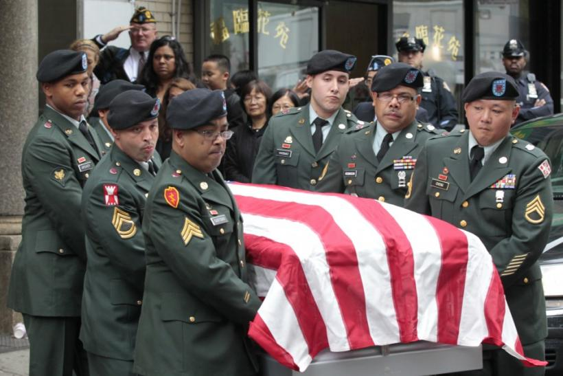 U.S. Military Funeral Service