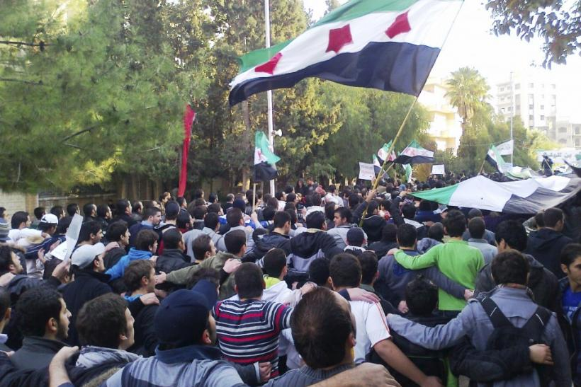 Anti-Assad Protests in Homs