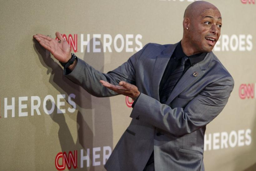 Actor and former U.S. Army soldier Martinez arrives at the CNN Heroes: An All-Star Tribute event at the Shrine Auditorium in Los Angeles