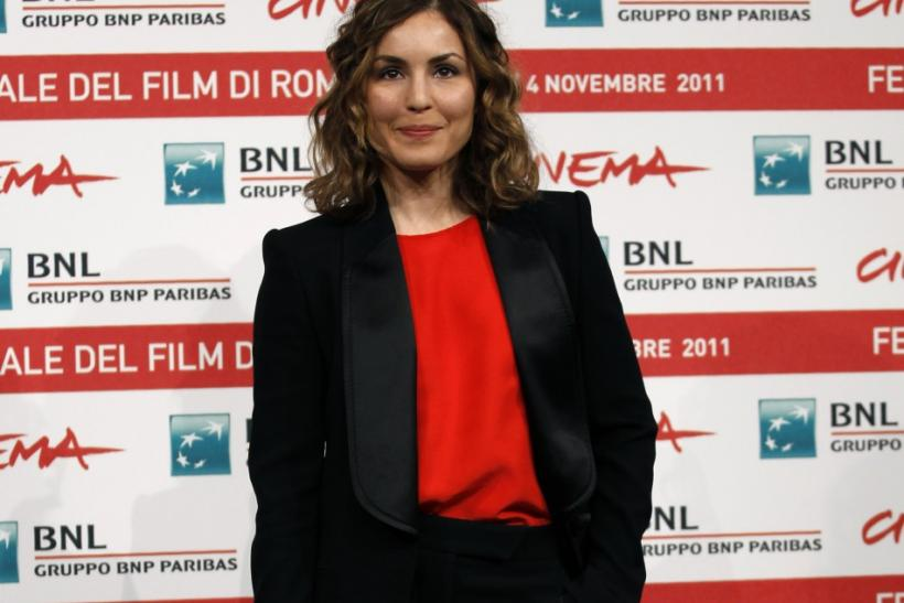"""Actress Rapace poses during a photocall of the movie """"Babycall"""""""