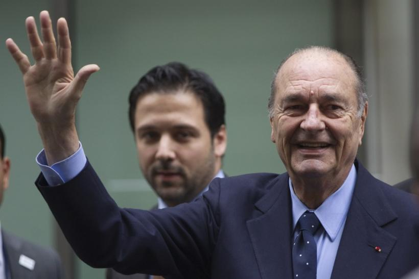 Former French President Chirac