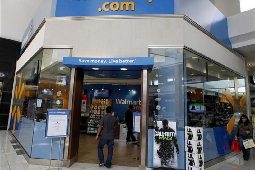 A view of a Wal-Mart.com store in Canoga Park