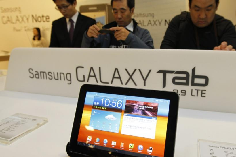 A new Samsung tablet is unveiled
