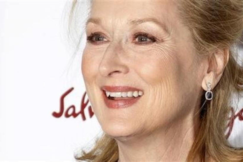 Cast member Meryl Streep arrives for the New York premiere of the film ''The Iron Lady'' in New York