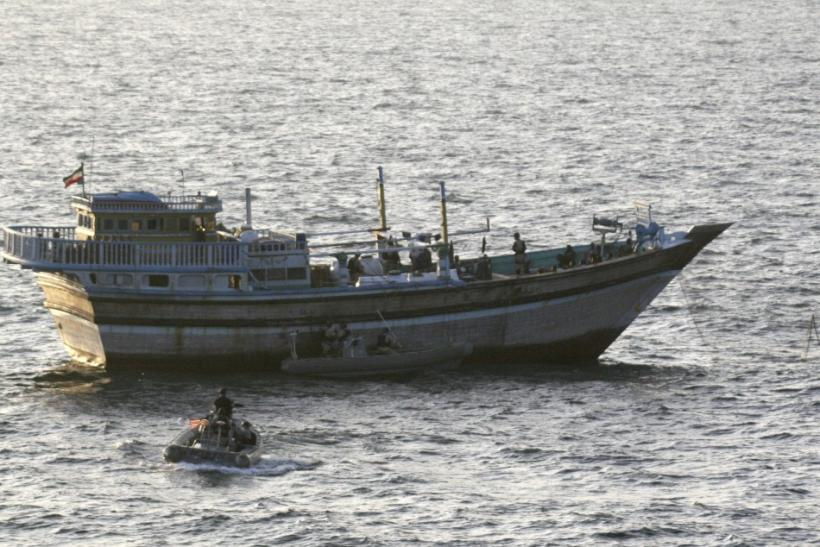 Navy Rescued Iranian Fishermen from Pirates