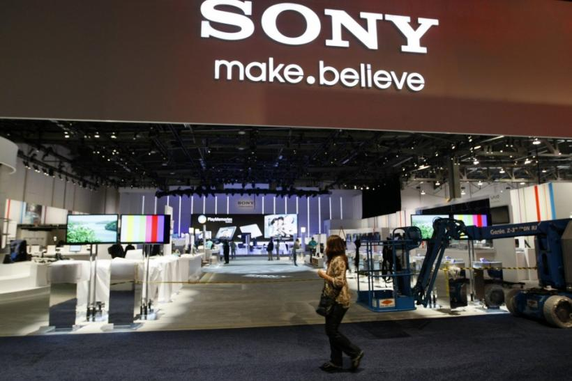 Sony Booth at CES 2012
