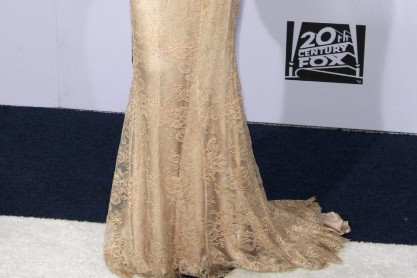 Actress Sarah Hyland arrives at the FOX after party after the 69th annual Golden Globe Awards in Beverly Hills, California