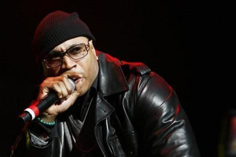 Rapper L.L. Cool J performs during the J.A.M Awards concert to benefit the late hip hop icon Jam Master Jay's Foundation for Music in New York