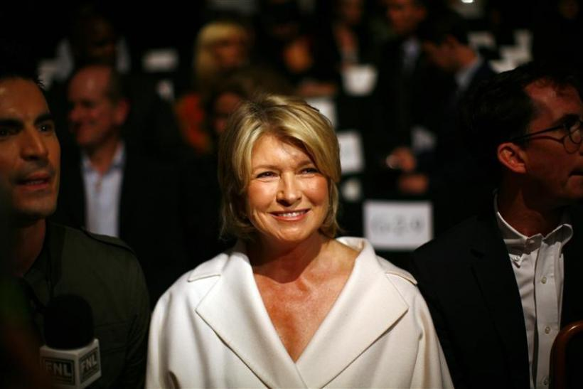 Martha Stewart attends the Chado Ralph Rucci Spring 2010 collection during New York Fashion Week