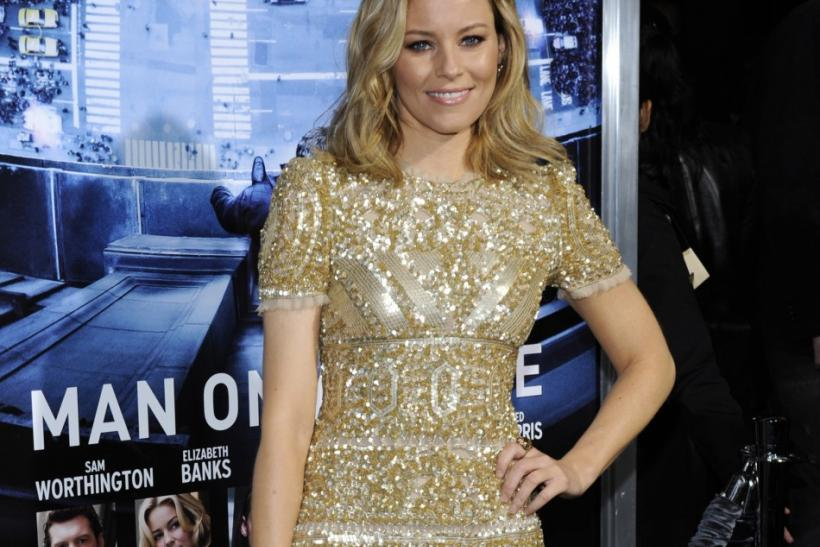 "Cast member Elizabeth Banks attends the premiere of the film ""Man on a Ledge"" in Los Angeles"