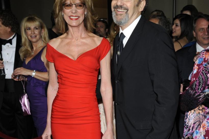 Actress Christine Lahti (L) and her husband, director Thomas Schlamme, attend the 64th annual Directors Guild of America Awards in Los Angeles