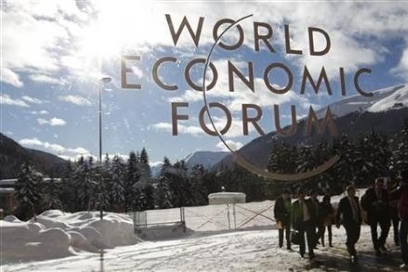 Davos Elite See Euro Surviving, for Now