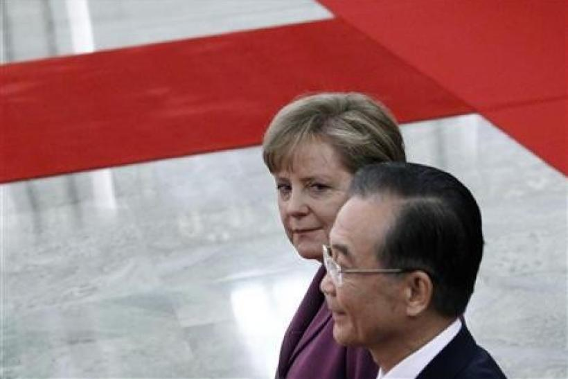 China's Wen: May consider bigger role in EU rescue