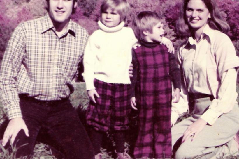 (L-R) Mitt Romney and his sons Tagg, Matt, and wife Ann are seen in this undated handout photo from the Romney for President campaign, received by Reuters