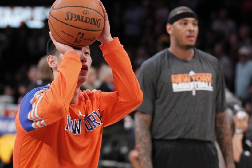 Free throws with Carmelo