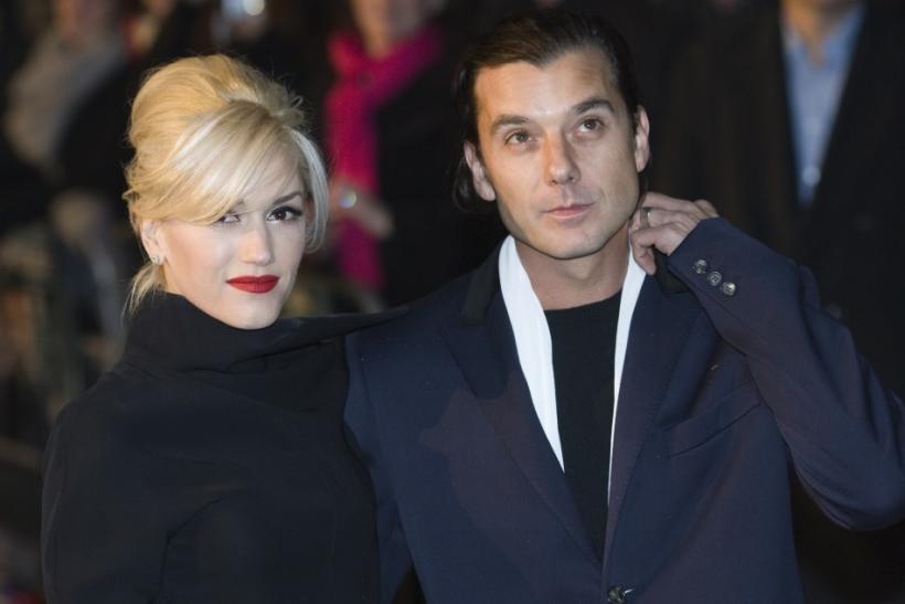 """Gwen Stefani and husband Gavin Rossdale arrive arm in arm for the World Premiere of """"Sherlock Holmes"""""""