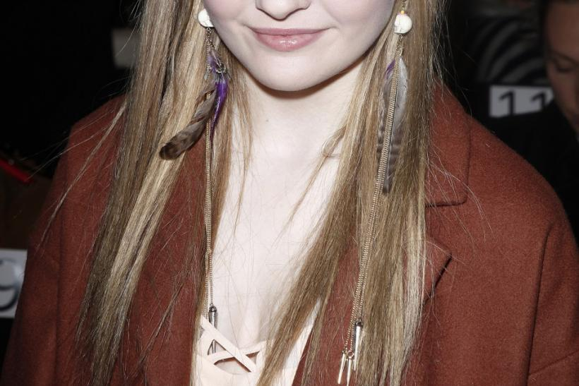 Actress Abigail Breslin arrives for the Rebecca Minkoff Fall/Winter 2012 collection show during New York Fashion Week February 10, 2012.